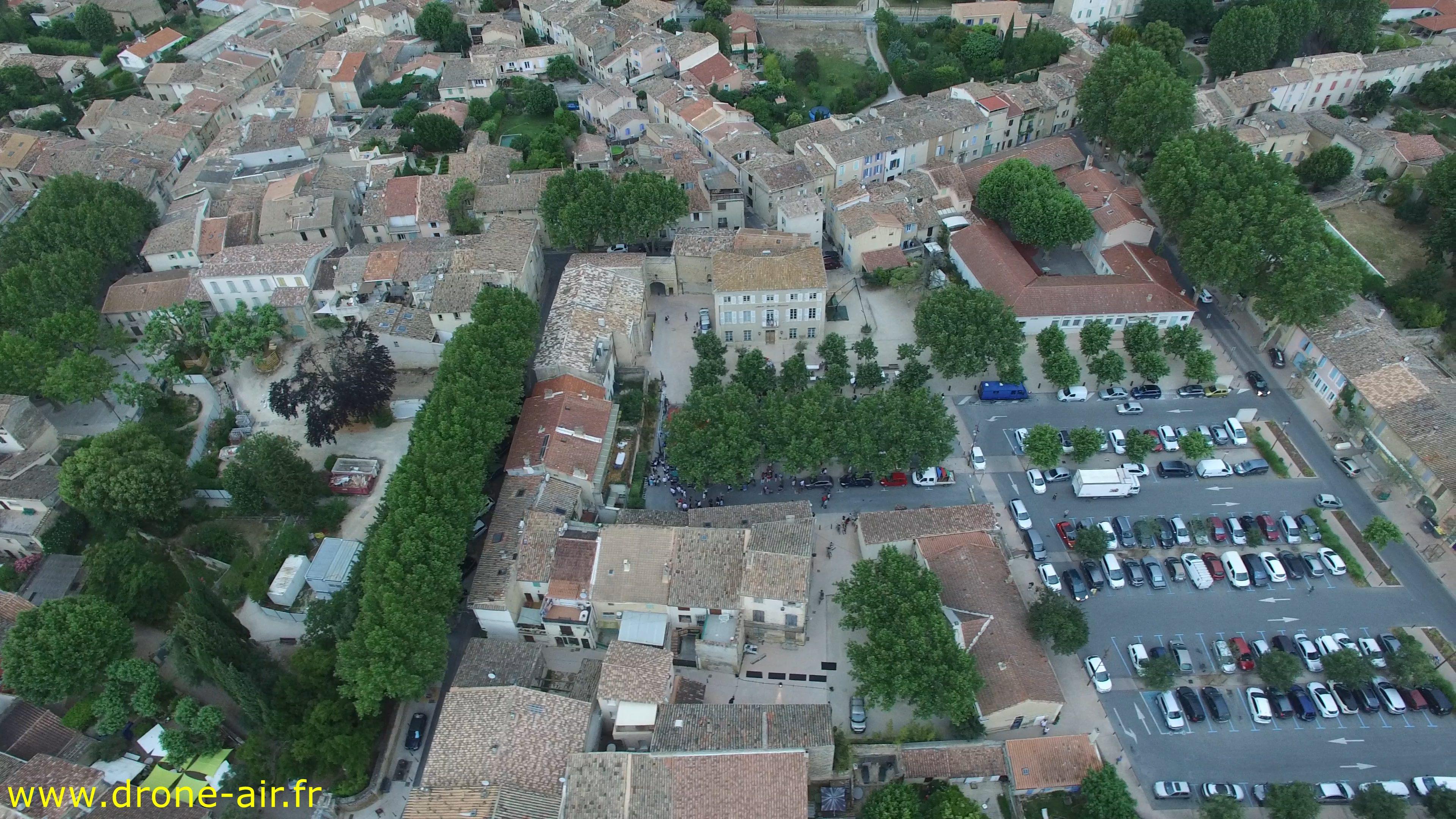 Mon Village Vu Du Haut Drone Air
